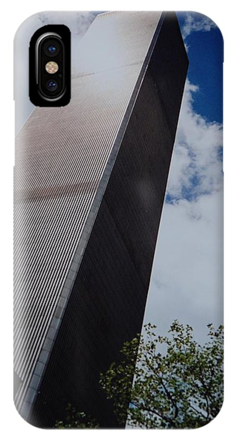 Wtc IPhone Case featuring the photograph W T C 1 And 2 by Rob Hans