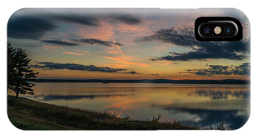 Landscape IPhone X Case featuring the photograph Wachusett Reservoir by Ronald Raymond