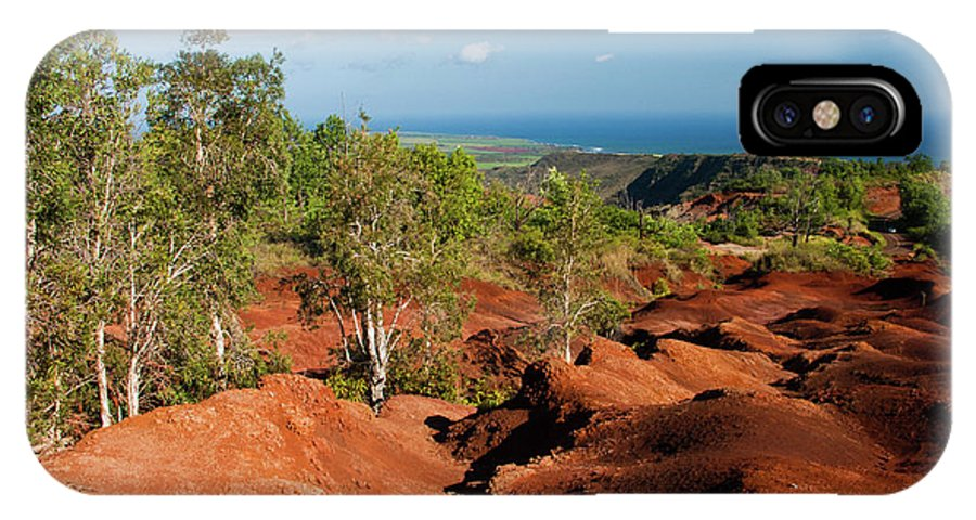 Kauai IPhone X Case featuring the photograph Waimea Canyon by Roger Mullenhour