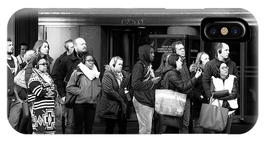 Waiting And Waiting IPhone X Case featuring the photograph Waiting And Waiting by John Rizzuto