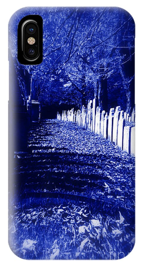 Halloween IPhone X / XS Case featuring the photograph Waking In The Night by Linda Galok
