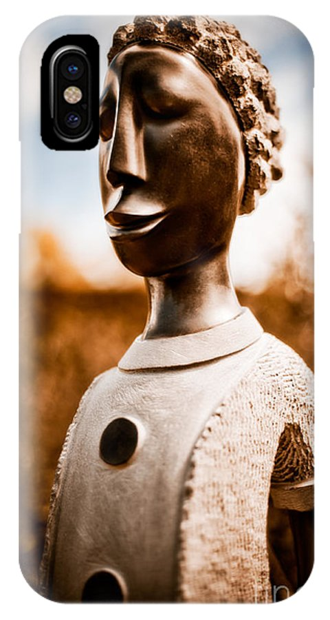 Art IPhone X Case featuring the photograph Walking On By by Venetta Archer