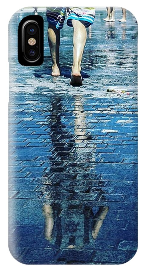 Man IPhone X Case featuring the photograph Walking On The Water by Nerea Berdonces Albareda