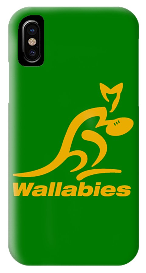 Wallabies Rugby Club Iphone X Case For Sale By Pendi Kere