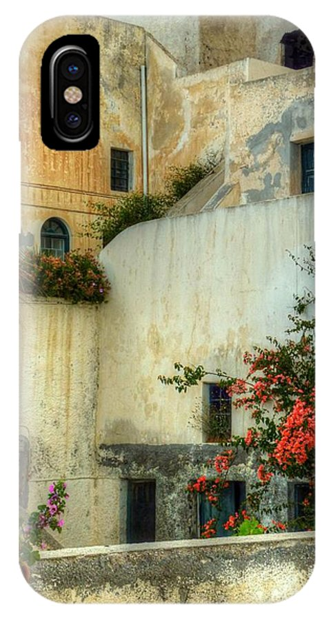 Walls IPhone X Case featuring the photograph Walls And Windows by Michael Garyet