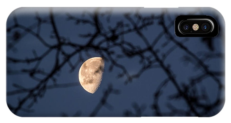 Waning Gibbous IPhone X Case featuring the photograph Waning by Michele James