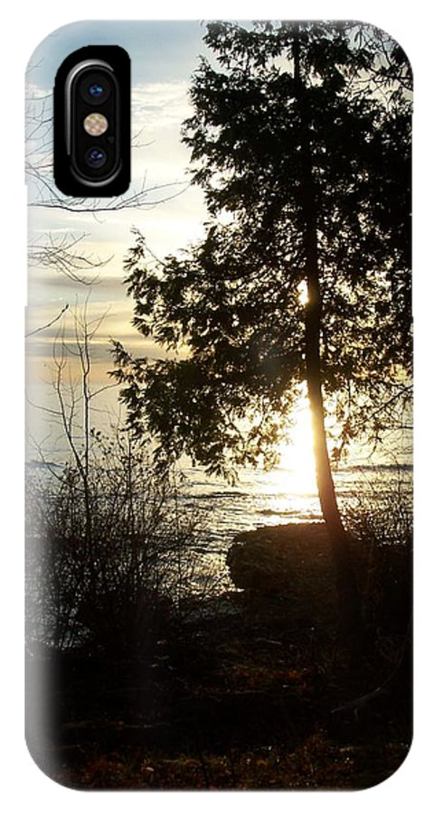Washington Island IPhone X Case featuring the photograph Washington Island Morning 2 by Anita Burgermeister
