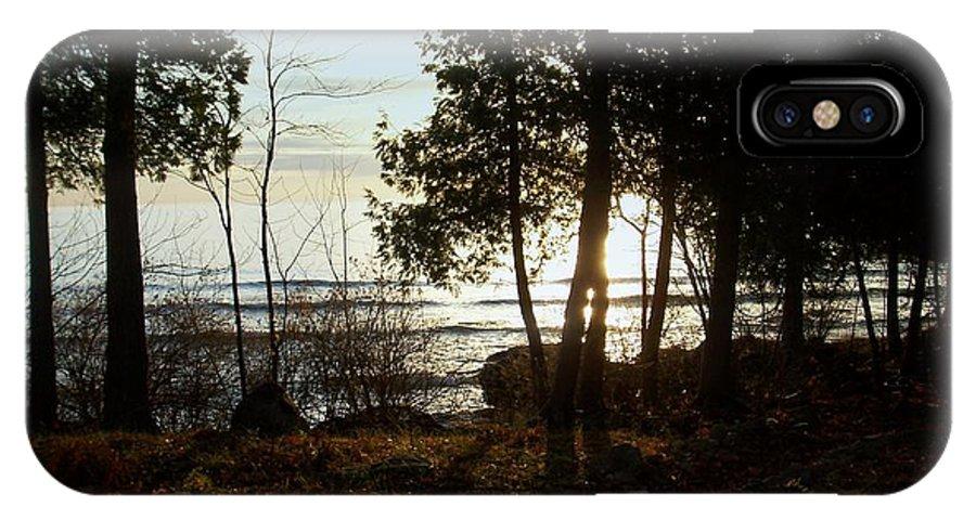 Washington Island IPhone X Case featuring the photograph Washington Island Morning 3 by Anita Burgermeister