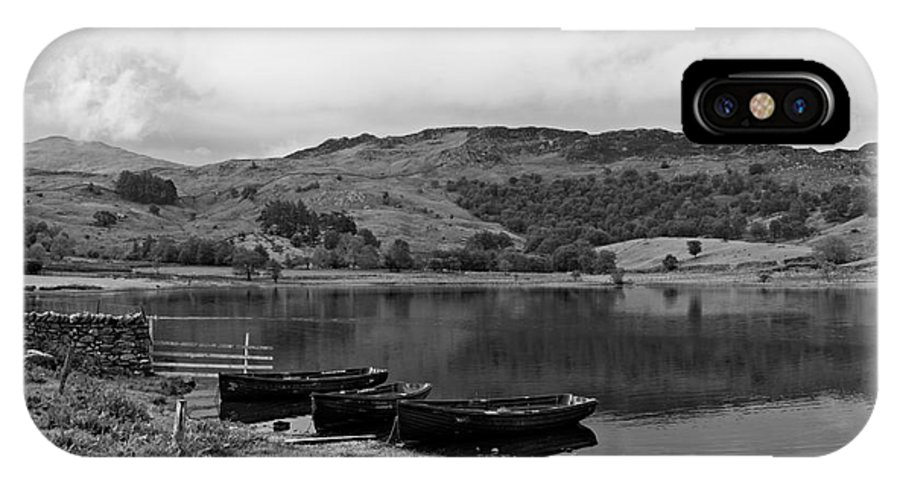Watendlath IPhone X Case featuring the photograph Watendlath Tarn In The Lake District Cumbria by Louise Heusinkveld