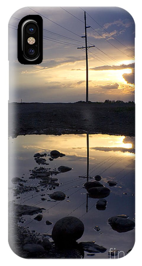 Water IPhone X Case featuring the photograph Water And Electricity by Idaho Scenic Images Linda Lantzy
