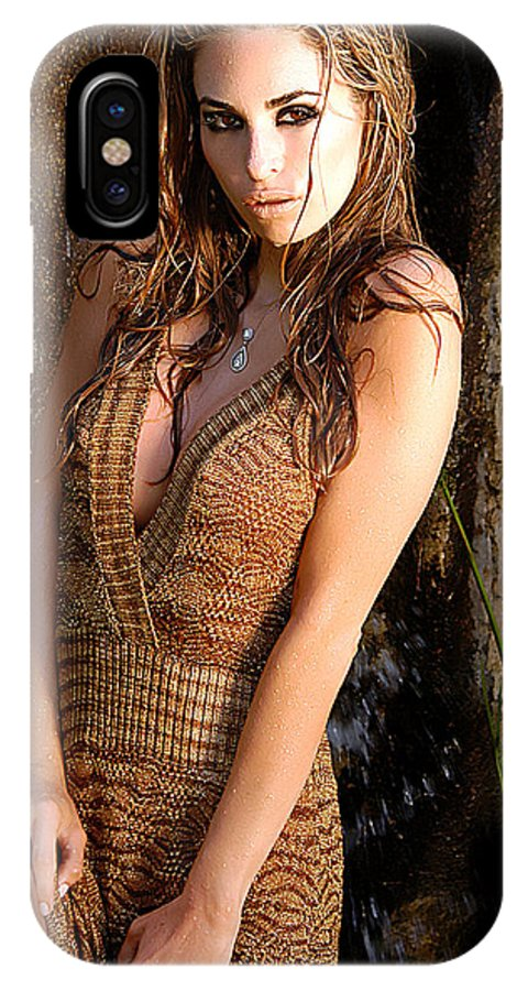 Clay IPhone Case featuring the photograph Water Fall Beauty by Clayton Bruster