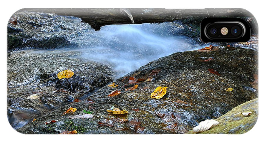 Water Falls IPhone X Case featuring the photograph Water Falls by Todd Hostetter