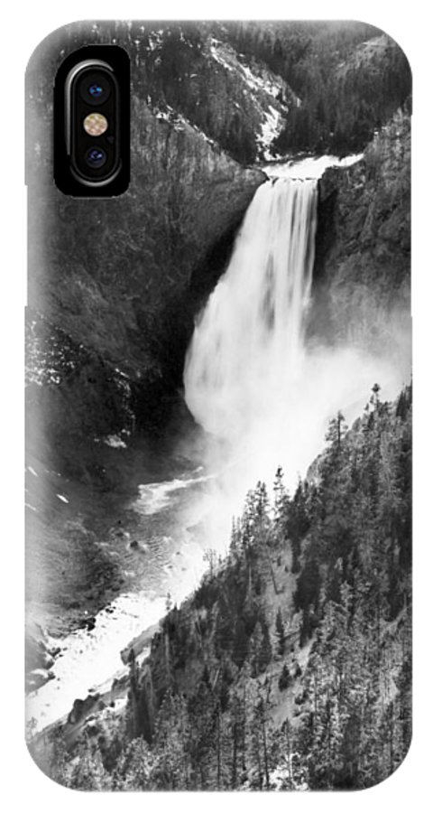 1890 IPhone X Case featuring the photograph Waterfall, C1900 by Granger