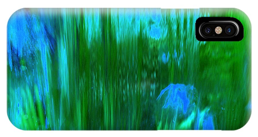 Digital Art IPhone Case featuring the digital art Waterfall by Shelley Jones
