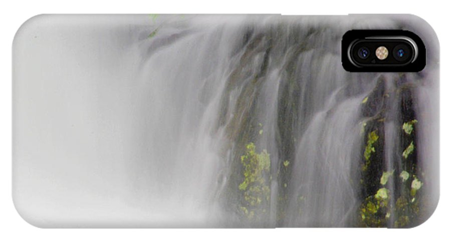 Waterfall IPhone X Case featuring the photograph Waterfalls2 by Trina Huston