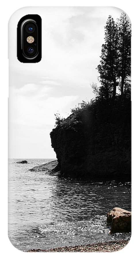Water IPhone X Case featuring the photograph Water's Edge by Dylan Punke
