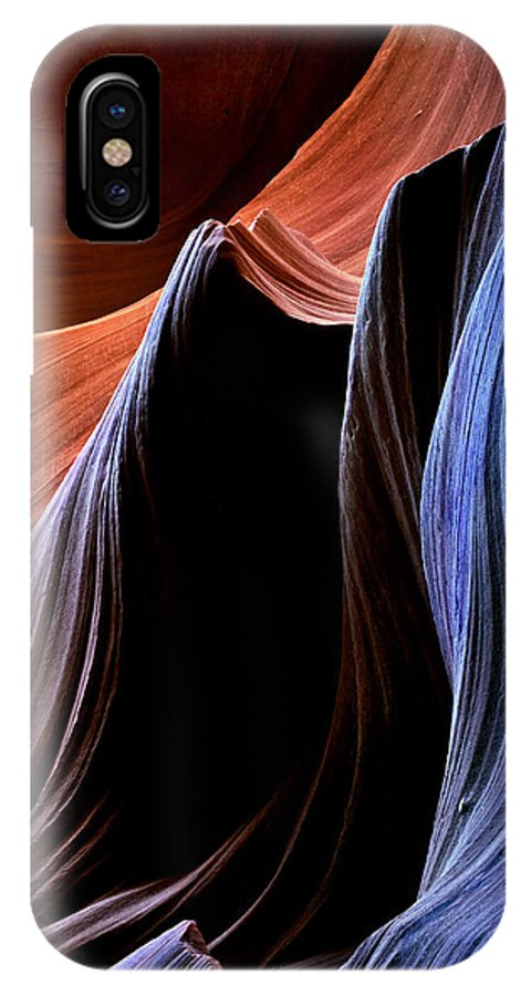 Sandstone IPhone Case featuring the photograph Waves by Mike Dawson