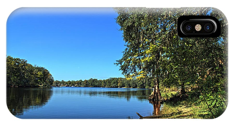 Hdr IPhone X Case featuring the photograph Way Down Upon The Swuanee River In Hdr by Frank Feliciano
