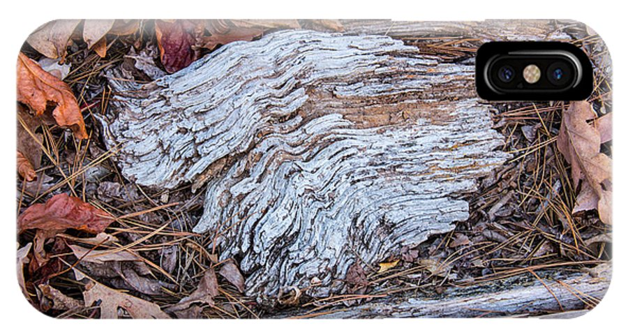 Robert Kinser IPhone X Case featuring the photograph Weathered Wood by Robert Kinser