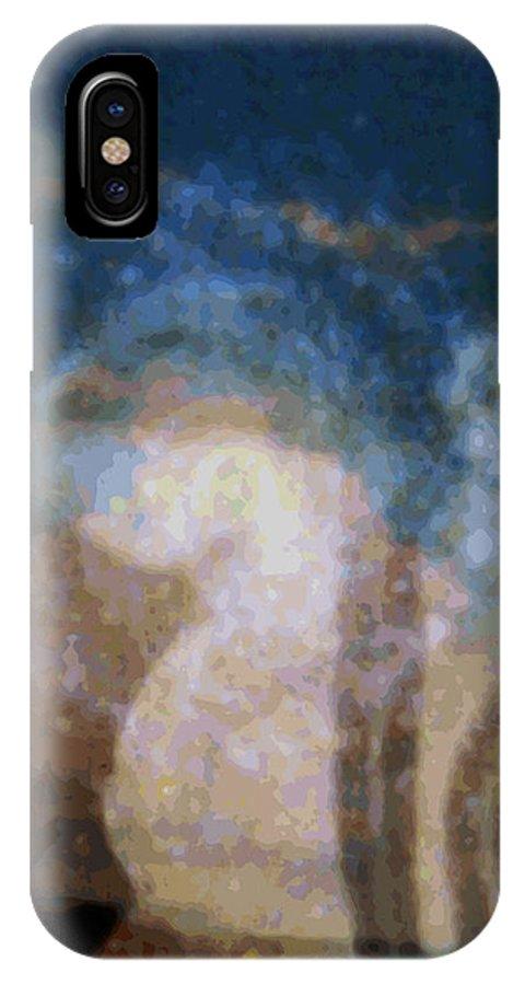 Rainbow Colors Digital IPhone Case featuring the photograph Wehewehe Moeuhane by Kenneth Grzesik
