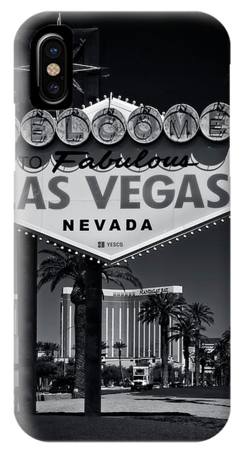 Las IPhone X Case featuring the photograph Welcome To Vegas Xi by Ricky Barnard
