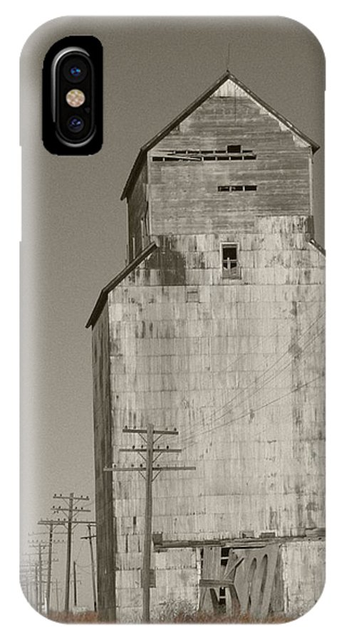 Landscape IPhone X Case featuring the photograph What Once by Dylan Punke