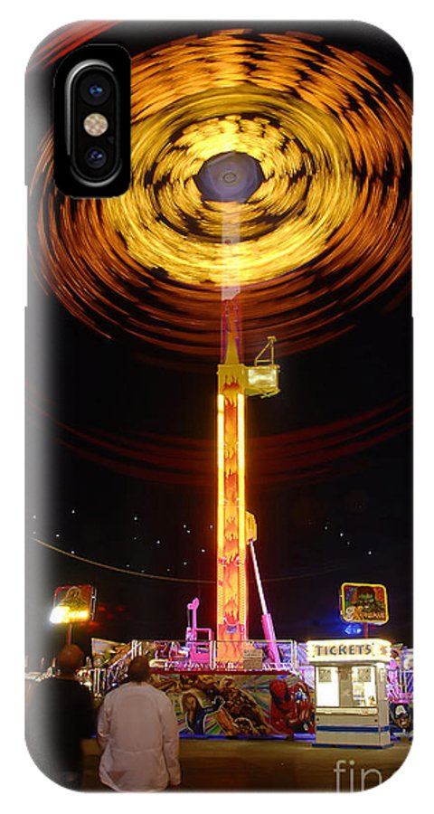Fair IPhone X Case featuring the photograph Wheels Of Wonder by David Lee Thompson
