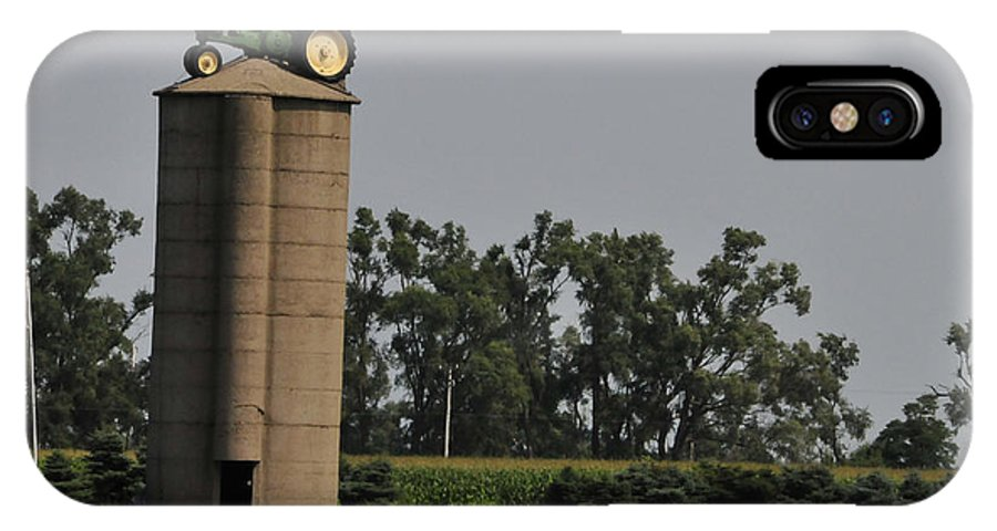 Silo IPhone X Case featuring the photograph Where Did I Park by David Arment