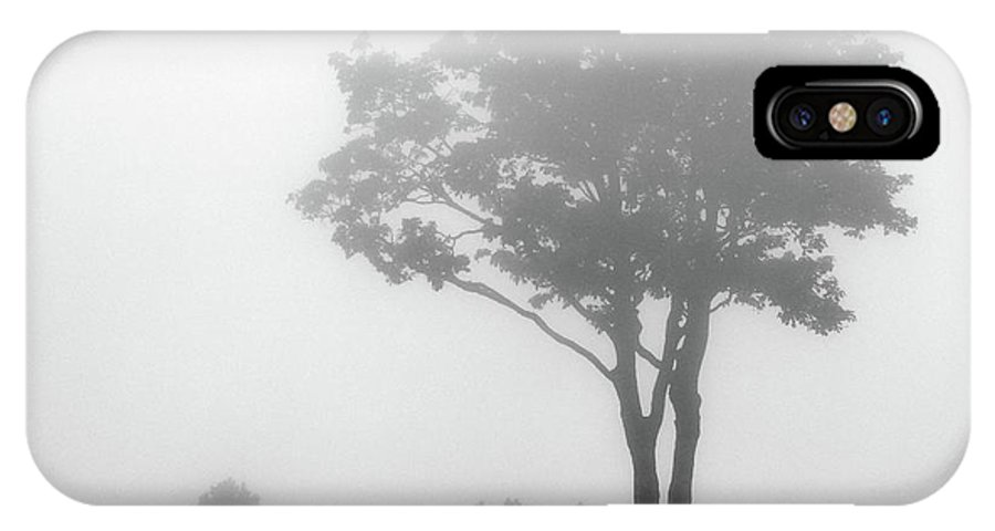 Black And White IPhone X Case featuring the photograph Where Do I Go When It's Gone by Dana DiPasquale