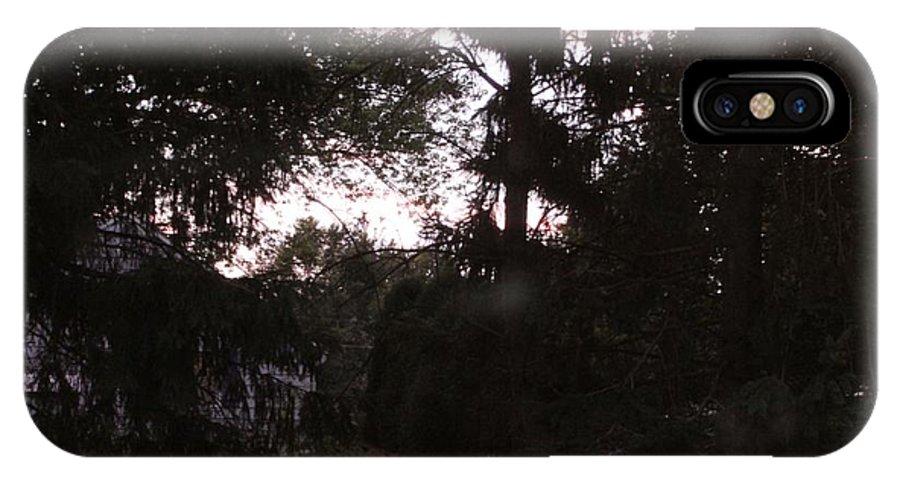 Faeries IPhone X Case featuring the photograph Where Faeries Tread by Connie Ann LaPointe