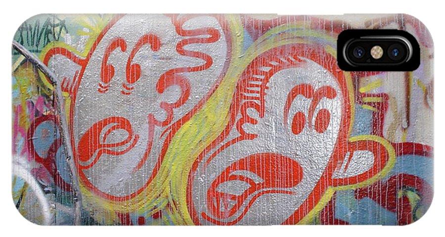 Urban Art IPhone X Case featuring the photograph Which Way by Chandelle Hazen