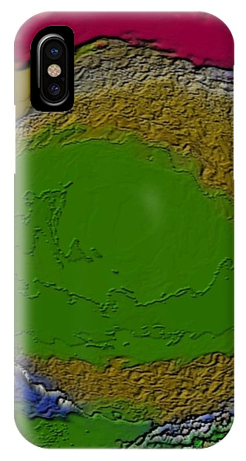 Colors IPhone Case featuring the digital art Whirlpool Colors by Dr Loifer Vladimir
