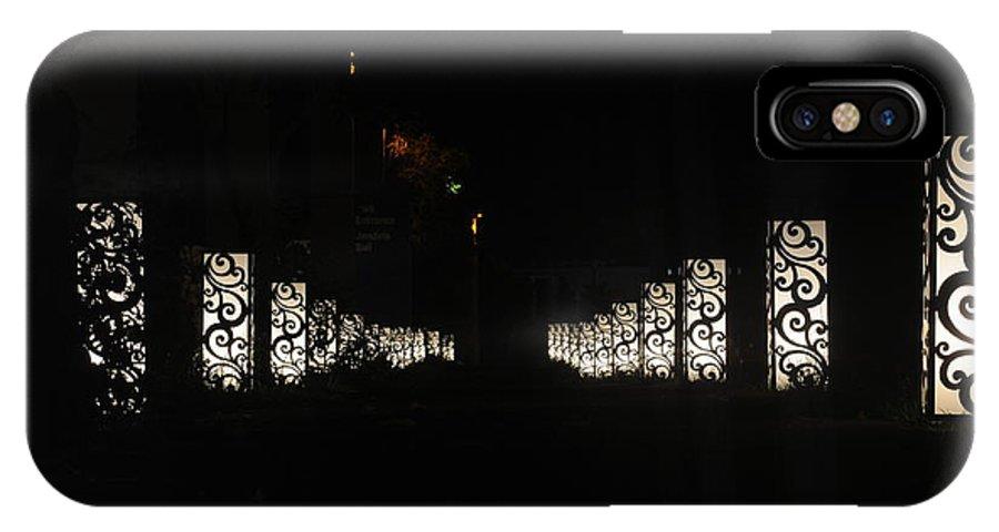 Light IPhone X Case featuring the photograph White Light Box by Mitra eko Hidayat
