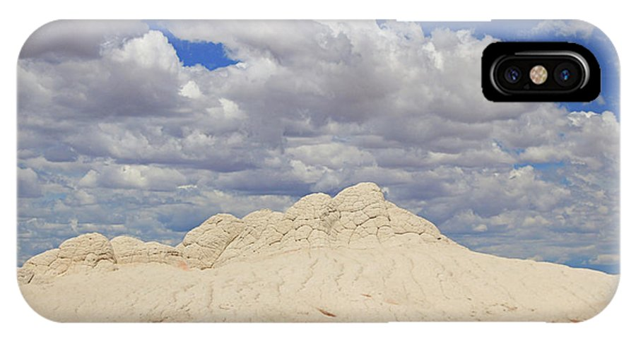 White Pocket IPhone X Case featuring the photograph White Pocket # 2 by Allen Beatty