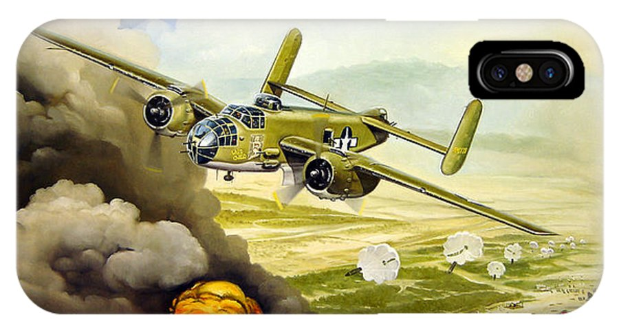 Aviation IPhone Case featuring the painting Wild Cargo by Marc Stewart