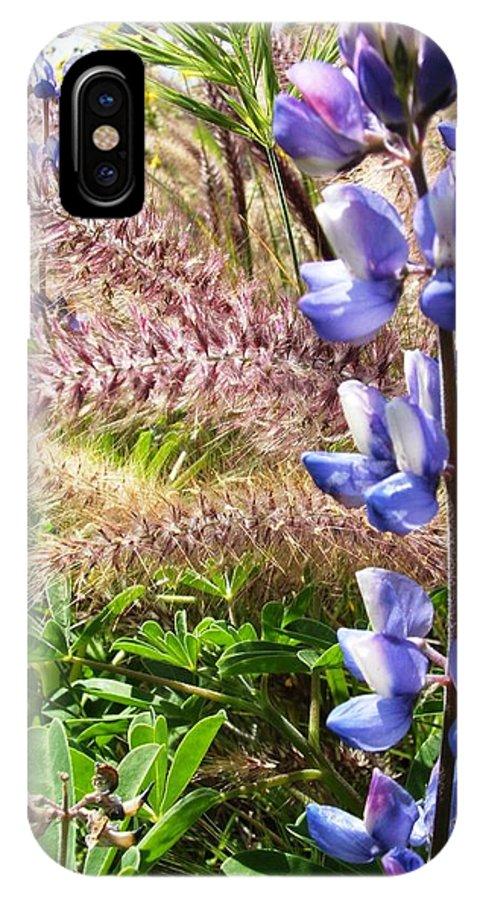 Flower IPhone X Case featuring the photograph Wild Flower by Shari Chavira