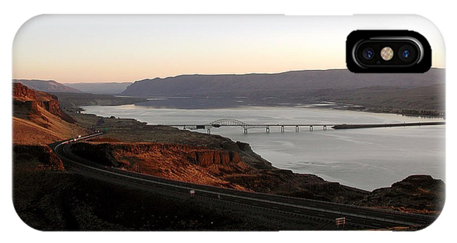 Columbia River IPhone X Case featuring the photograph Wild Horse Lookout - Washington by D'Arcy Evans