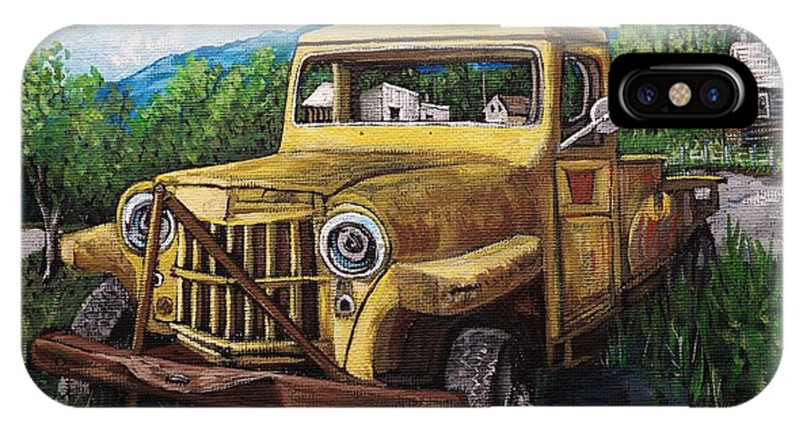 Willys Jeep For Sale >> Willys Jeep Pick Up Iphone X Case
