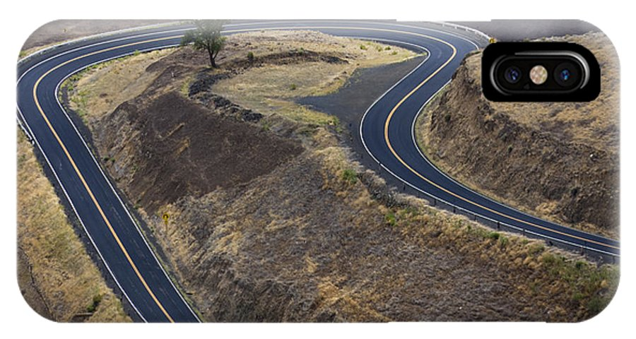 Road IPhone X Case featuring the photograph Winding Road by Idaho Scenic Images Linda Lantzy
