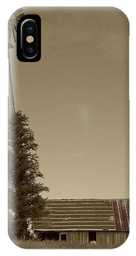 Landscape IPhone Case featuring the photograph Windmill II by Dylan Punke