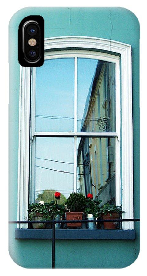 Irish IPhone Case featuring the photograph Window In Ennistymon Ireland by Teresa Mucha