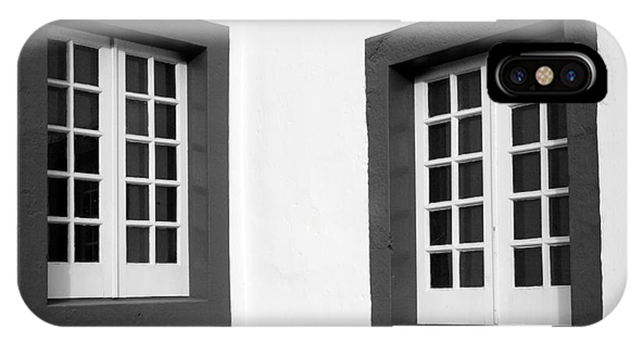 Azores IPhone Case featuring the photograph Windows by Gaspar Avila