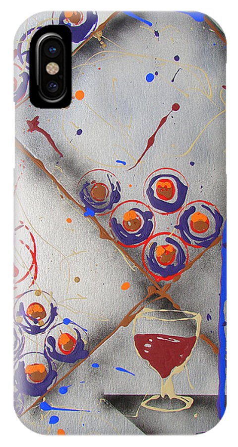 Wine IPhone Case featuring the painting Wine Connoisseur by J R Seymour