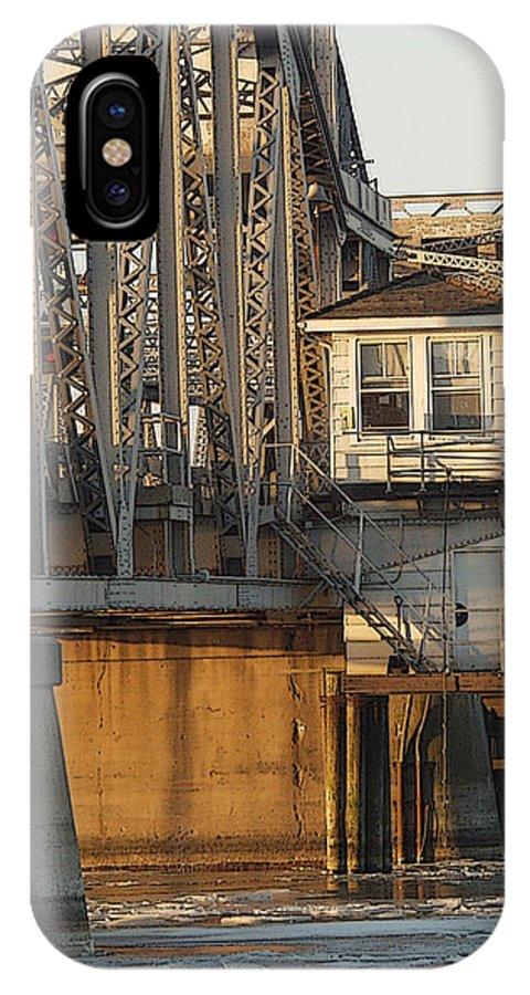 Bridge IPhone Case featuring the photograph Winter Bridgehouse by Tim Nyberg