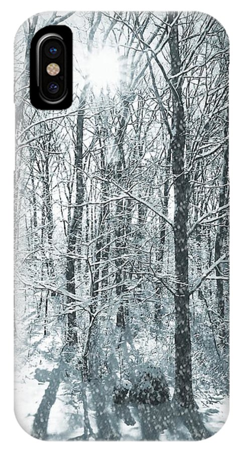 Winter IPhone X Case featuring the photograph Winter Cold by JAMART Photography