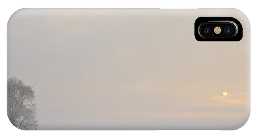 Fog IPhone X Case featuring the photograph Winter by David Arment