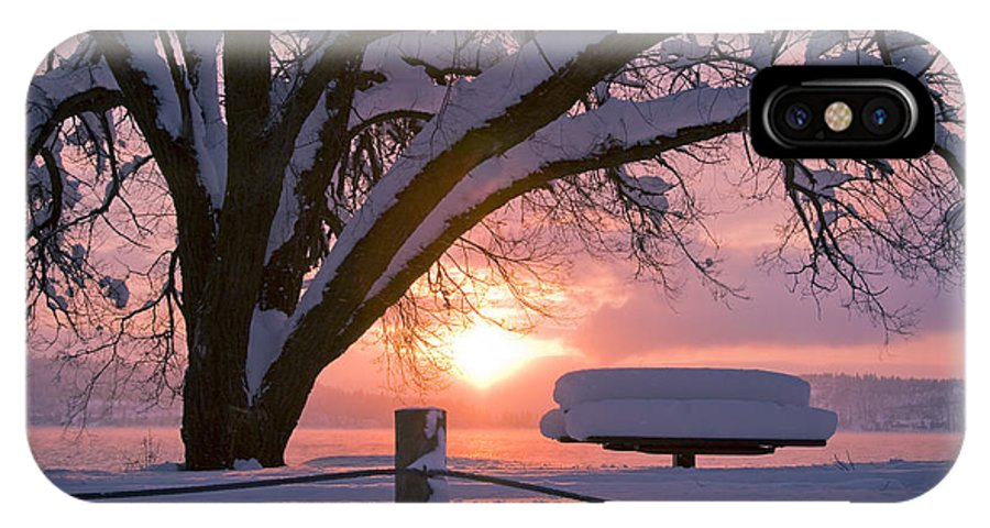 Winter IPhone Case featuring the photograph Winter Light by Idaho Scenic Images Linda Lantzy