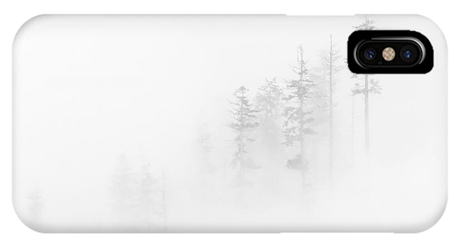 Winter IPhone X Case featuring the photograph Winter Veil by Mike Dawson