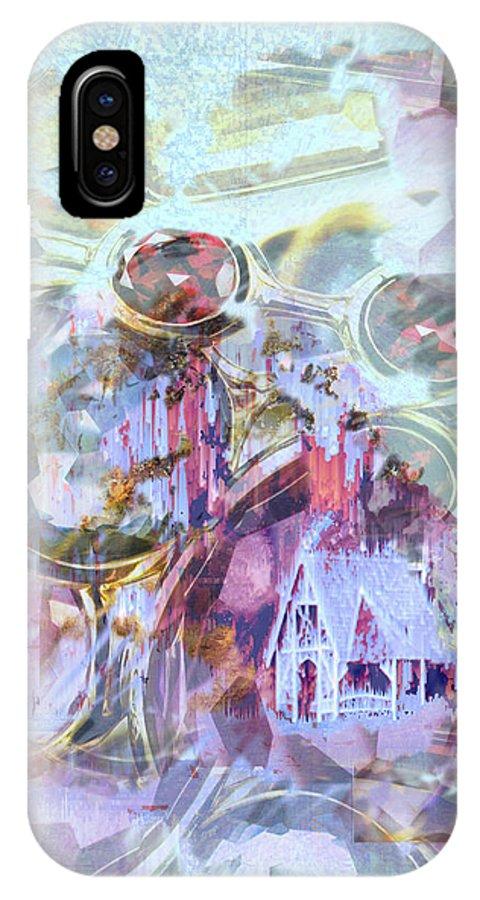 Winter Wind IPhone Case featuring the digital art Winters Blast by Seth Weaver