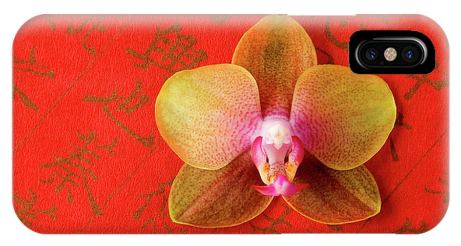 Orchid IPhone Case featuring the photograph Wishes Come True by Julia Hiebaum